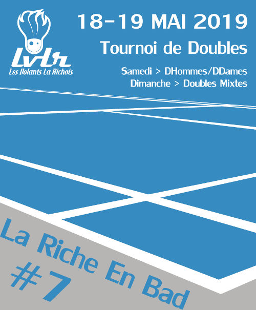 Tournoi La Riche En Bad #7